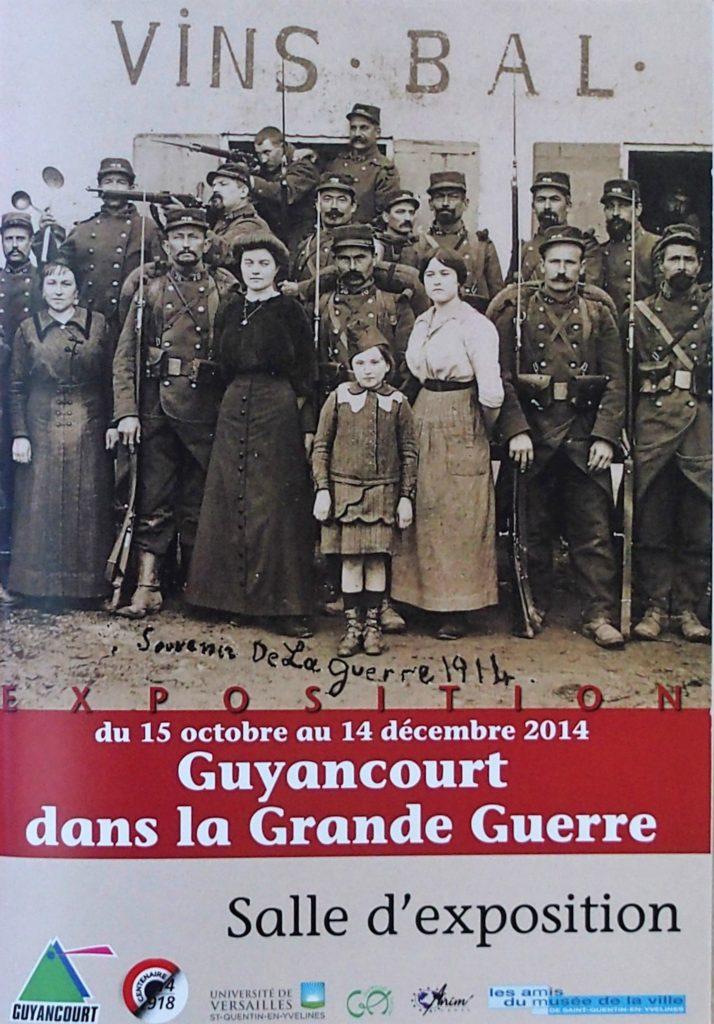 Couverture d'ouvrage: GUYANCOURT DANS LA GRANDE GUERRE (2014)