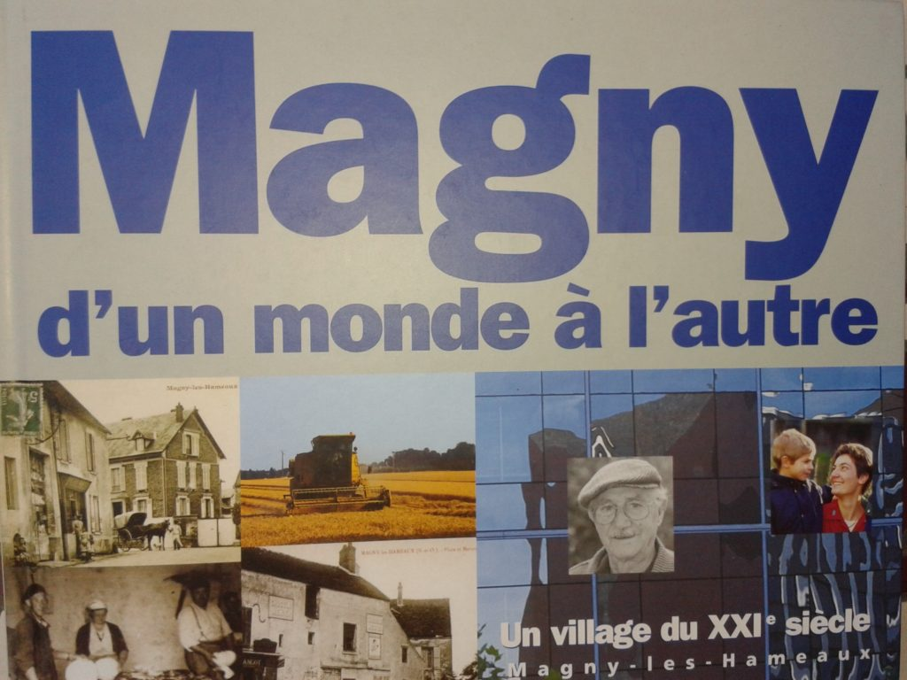 Couverture d'ouvrage: MAGNY D'UN MONDE À L'AUTRE